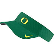 Nike Men's Oregon Ducks Green AeroBill Football Sideline Visor