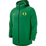 Nike Men's Oregon Ducks Green Dri-FIT Showtime Full-Zip Basketball Hoodie