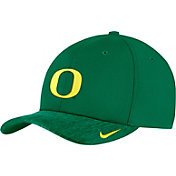Nike Men's Oregon Ducks Green Aerobill Swoosh Flex Classic99 Football Sideline Hat