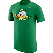 Nike Men's Oregon Ducks Heathered Green Vault Tri-Blend T-Shirt