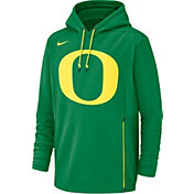 Nike Men's Oregon Ducks Green Therma-FIT Pullover Hoodie