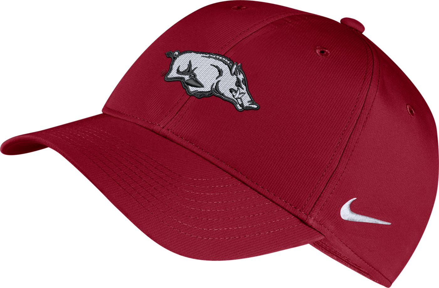 Nike Men's Arkansas Razorbacks Cardinal Legacy91 Adjustable Hat