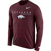 Nike Men's Arkansas Razorbacks Cardinal Velocity Legend Graphic Long Sleeve T-Shirt