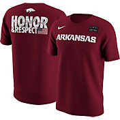 Nike Men's Arkansas Razorbacks Armed Forces Classic Cardinal T-Shirt