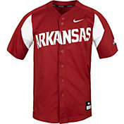 Nike Men's Arkansas Razorbacks Cardinal Dri-FIT Replica Baseball Jersey