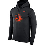 Nike Men's Oregon State Beavers Benny Beaver Football Black Hoodie