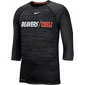 Nike Men's Oregon State Beavers Dry Legend 3/4 Sleeve Black T-Shirt