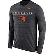Nike Men's Oregon State Beavers Velocity Legend Graphic Long Sleeve Black T-Shirt