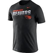 Nike Men's Oregon State Beavers Legend Football Sideline Black T-Shirt