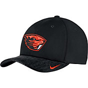 Nike Men's Oregon State Beavers Black Aerobill Swoosh Flex Classic99 Football Sideline Hat