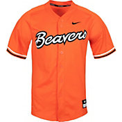 Nike Men's Oregon State Beavers Orange Dri-FIT Replica Baseball Jersey