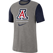 Nike Men's Arizona Wildcats Grey Dri-FIT Baseball Slub T-Shirt