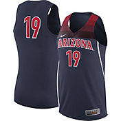 Nike Men's Arizona Wildcats Navy #19 Replica Basketball Jersey