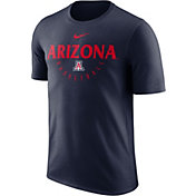 Nike Men's Arizona Wildcats Navy Key Basketball Legend T-Shirt