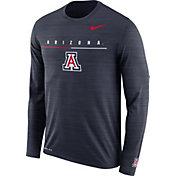 Nike Men's Arizona Wildcats Navy Velocity Legend Graphic Long Sleeve T-Shirt