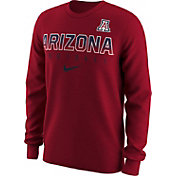 Nike Men's Arizona Wildcats Cardinal Dri-FIT Practice Long Sleeve Shirt