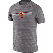 Nike Men's USC Trojans Grey Velocity Legend Graphic T-Shirt