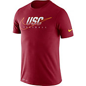 Nike Men's USC Trojans Cardinal Football Dri-FIT Cotton Facility T-Shirt