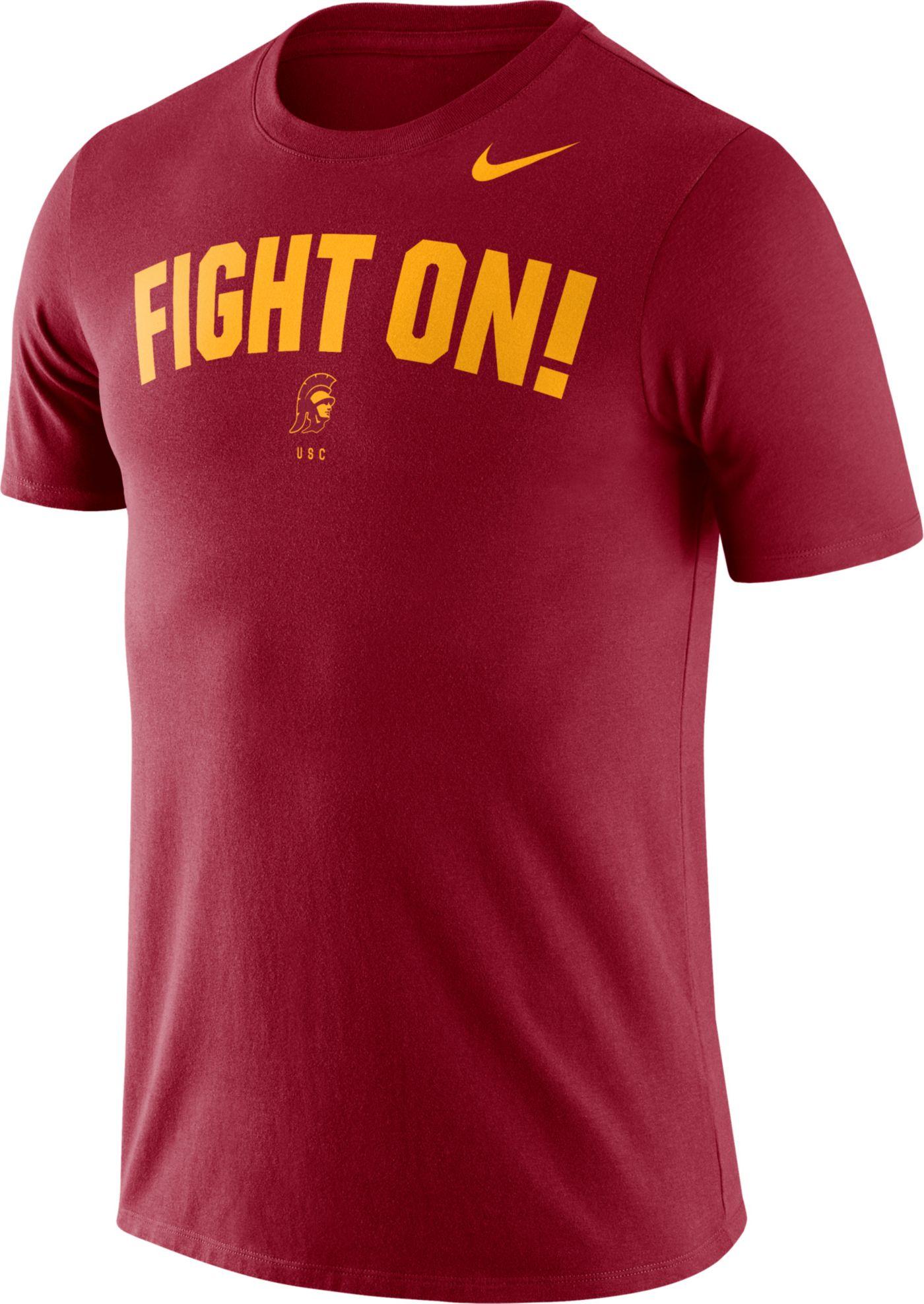 Nike Men's USC Trojans Cardinal Dri-FIT Phrase T-Shirt