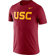 Nike Men's USC Trojans Cardinal Dri-FIT Cotton Word T-Shirt