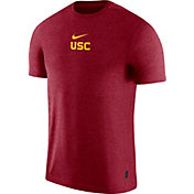 Nike Men's USC Trojans Cardinal Dri-FIT Coach UV Football T-Shirt