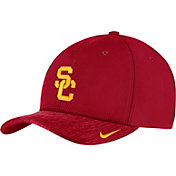 Nike Men's USC Trojans Cardinal Aerobill Swoosh Flex Classic99 Football Sideline Hat