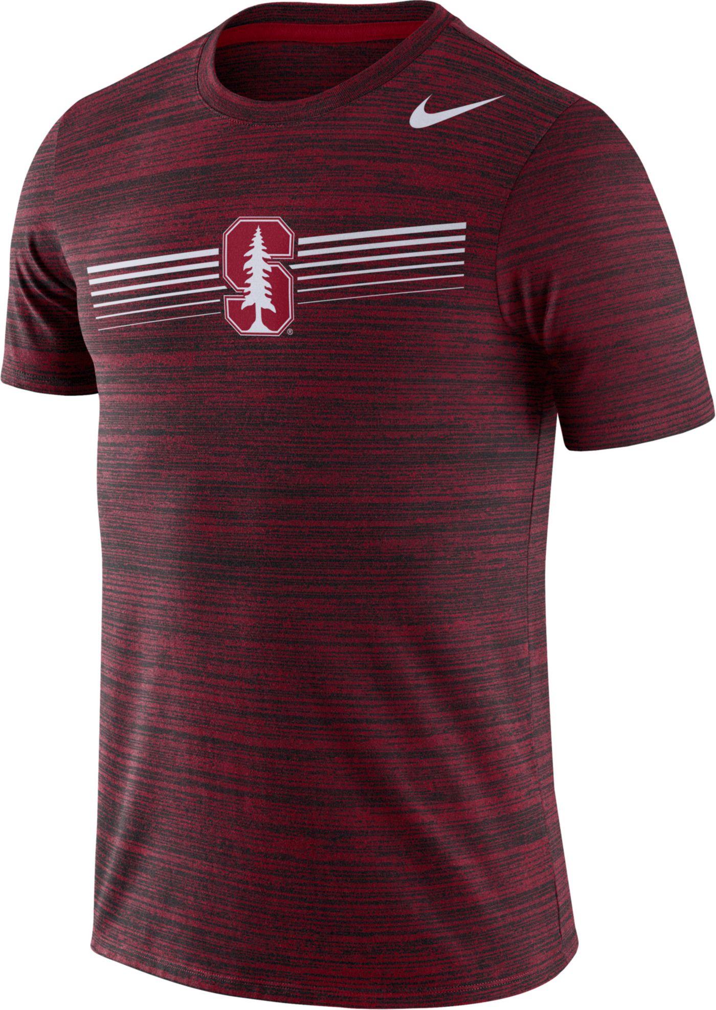 Nike Men's Stanford Cardinal Cardinal Velocity Legend Graphic T-Shirt