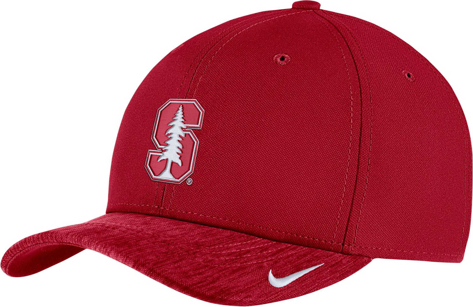 a63bbac6a1a ... coupon for official store nike mens stanford cardinal cardinal aerobill  swoosh flex classic99 football sideline hat