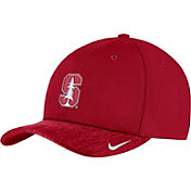 Nike Men's Stanford Cardinal Cardinal Aerobill Swoosh Flex Classic99 Football Sideline Hat