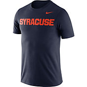 Nike Men's Syracuse Orange Blue Dri-FIT Cotton Word T-Shirt