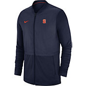 Jordan Men's Florida Gators Blue Elite Hybrid Football Full-Zip Jacket