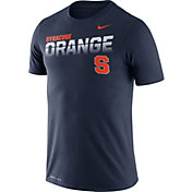 Nike Men's Syracuse Orange Blue Legend Football Sideline T-Shirt