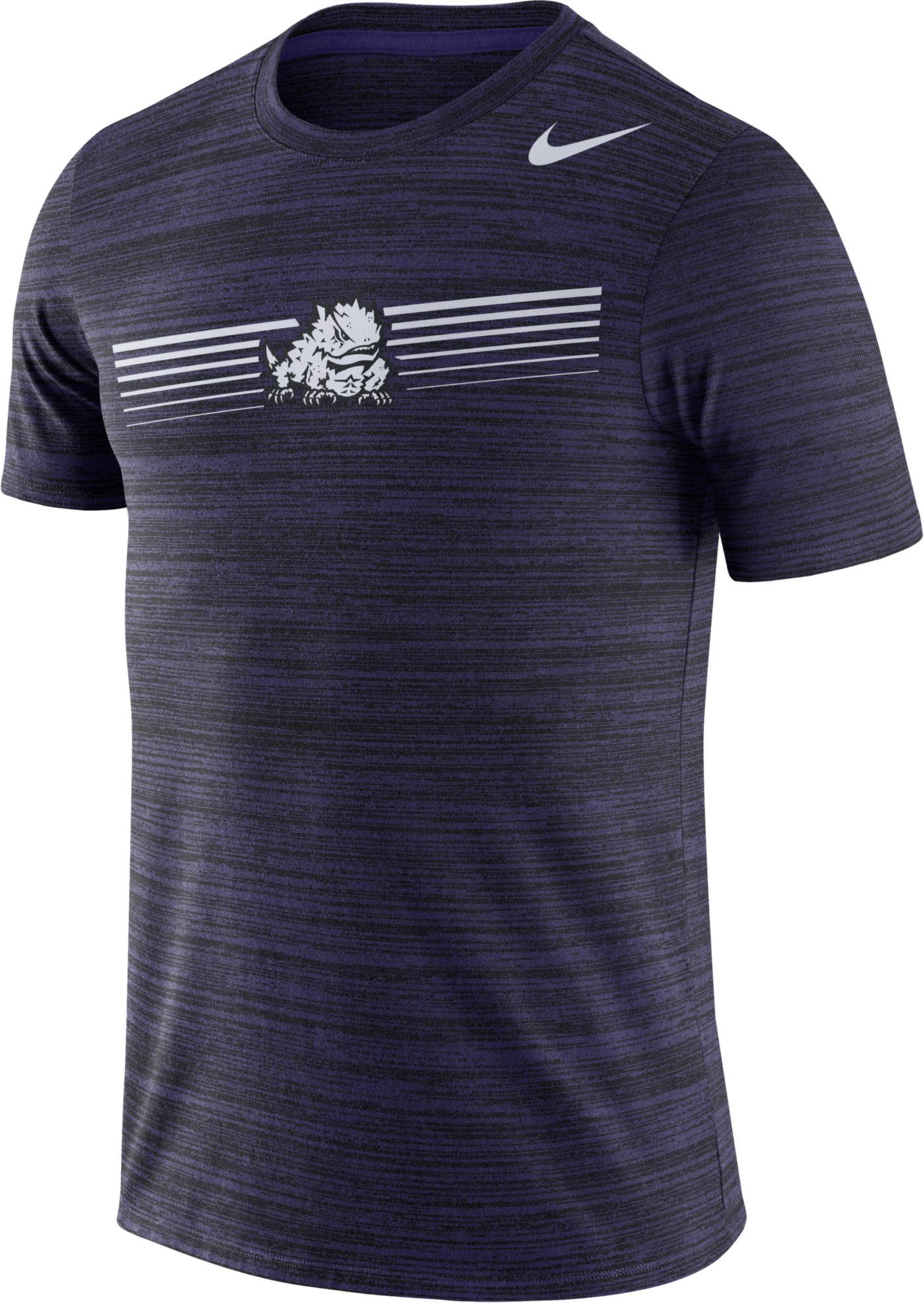Nike Men's TCU Horned Frogs Purple Velocity Legend Graphic T-Shirt