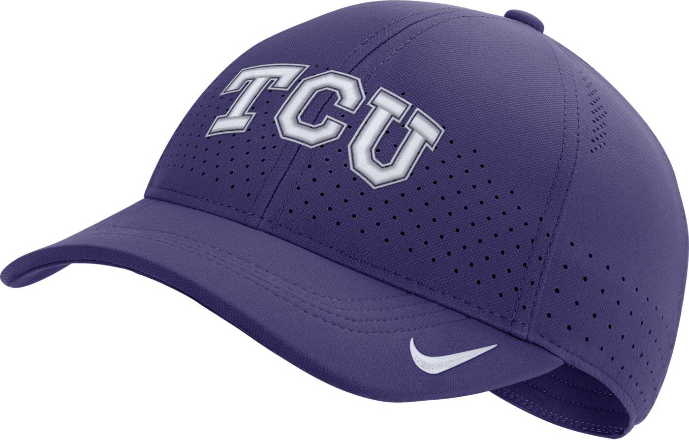Nike Men's TCU Horned Frogs Purple Aerobill Classic99 Football Sideline Hat