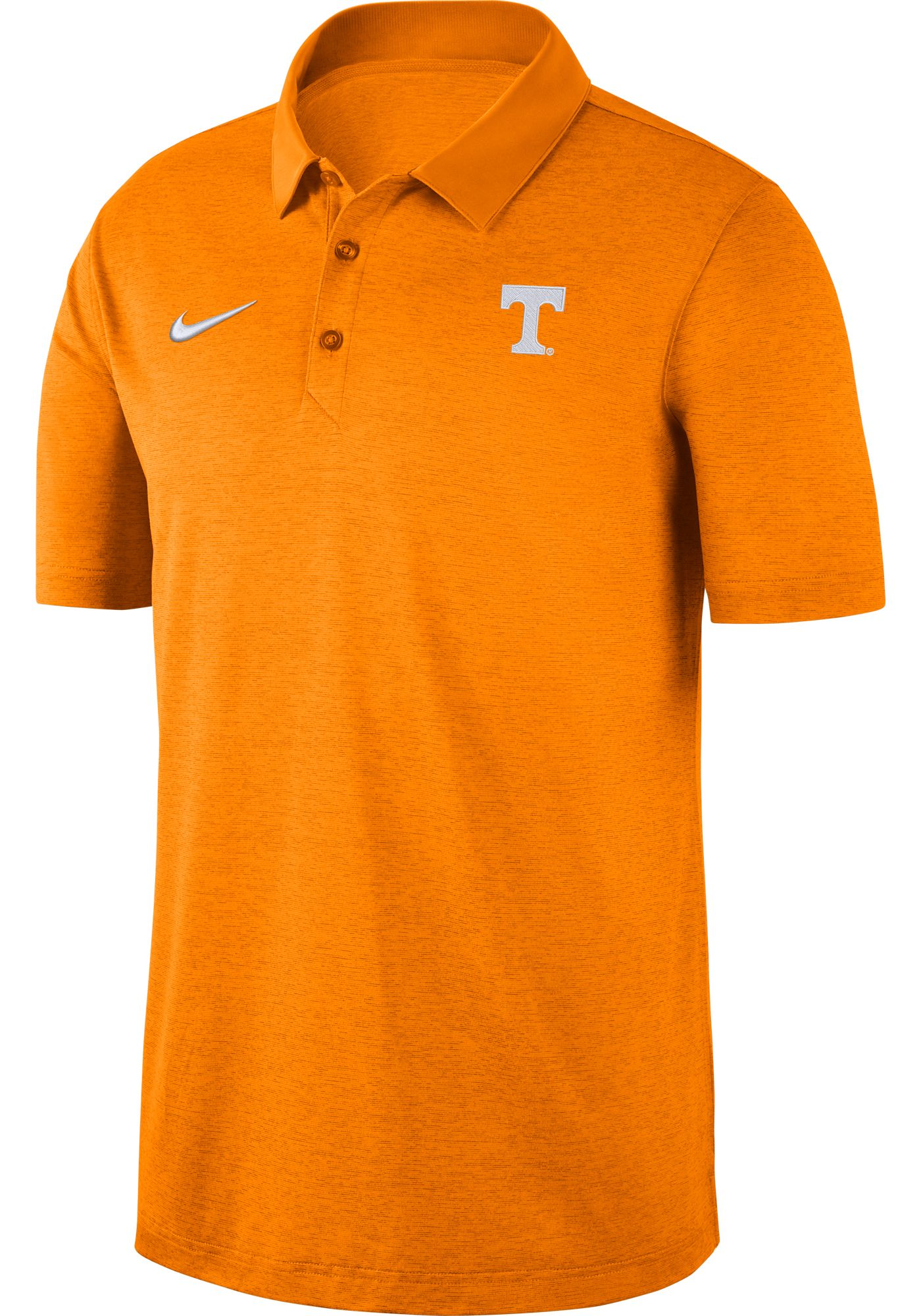 Nike Men's Tennessee Volunteers Tennessee Orange Dri-FIT Breathe Polo