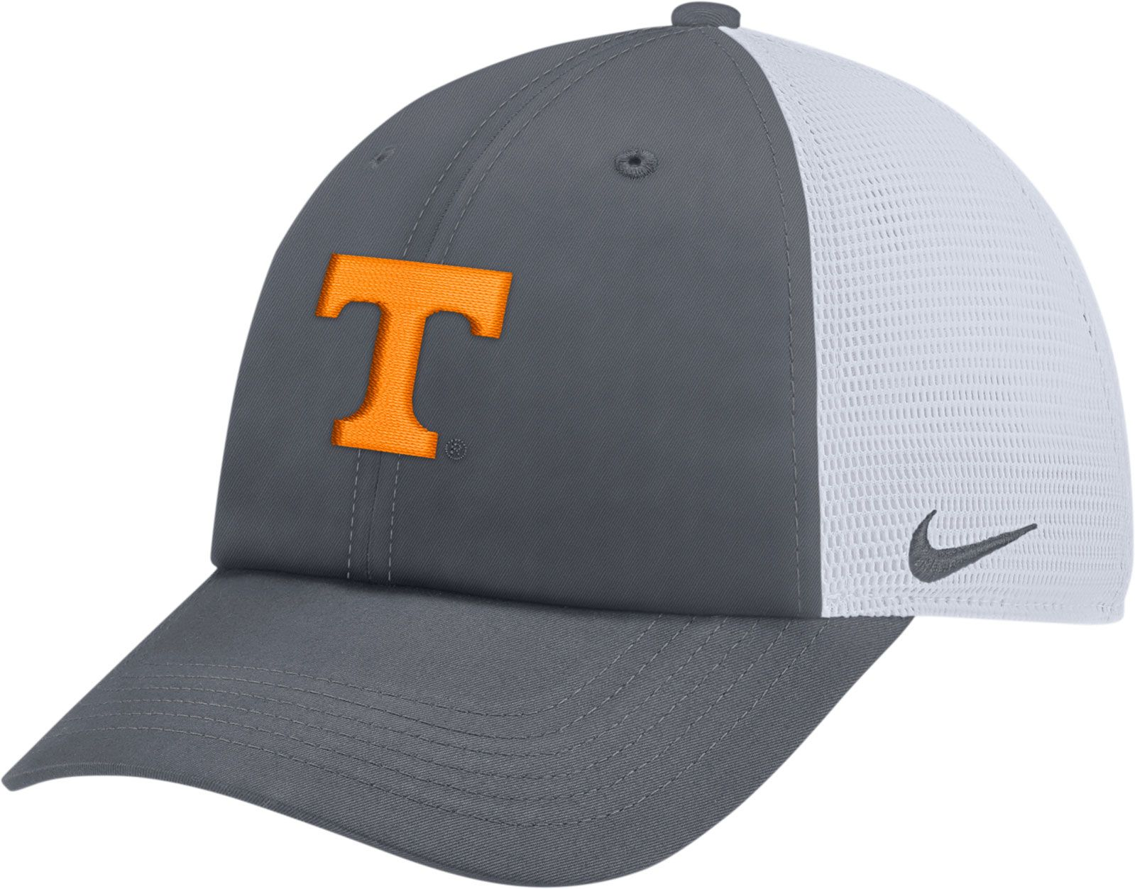 new product 93bb2 05fca ... where can i buy nike mens tennessee volunteers grey heritage86  adjustable trucker hat a3262 151ed