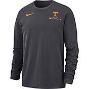 Nike Men's Tennessee Volunteers Grey Dri-FIT Modern Long Sleeve Crew Neck T-Shirt