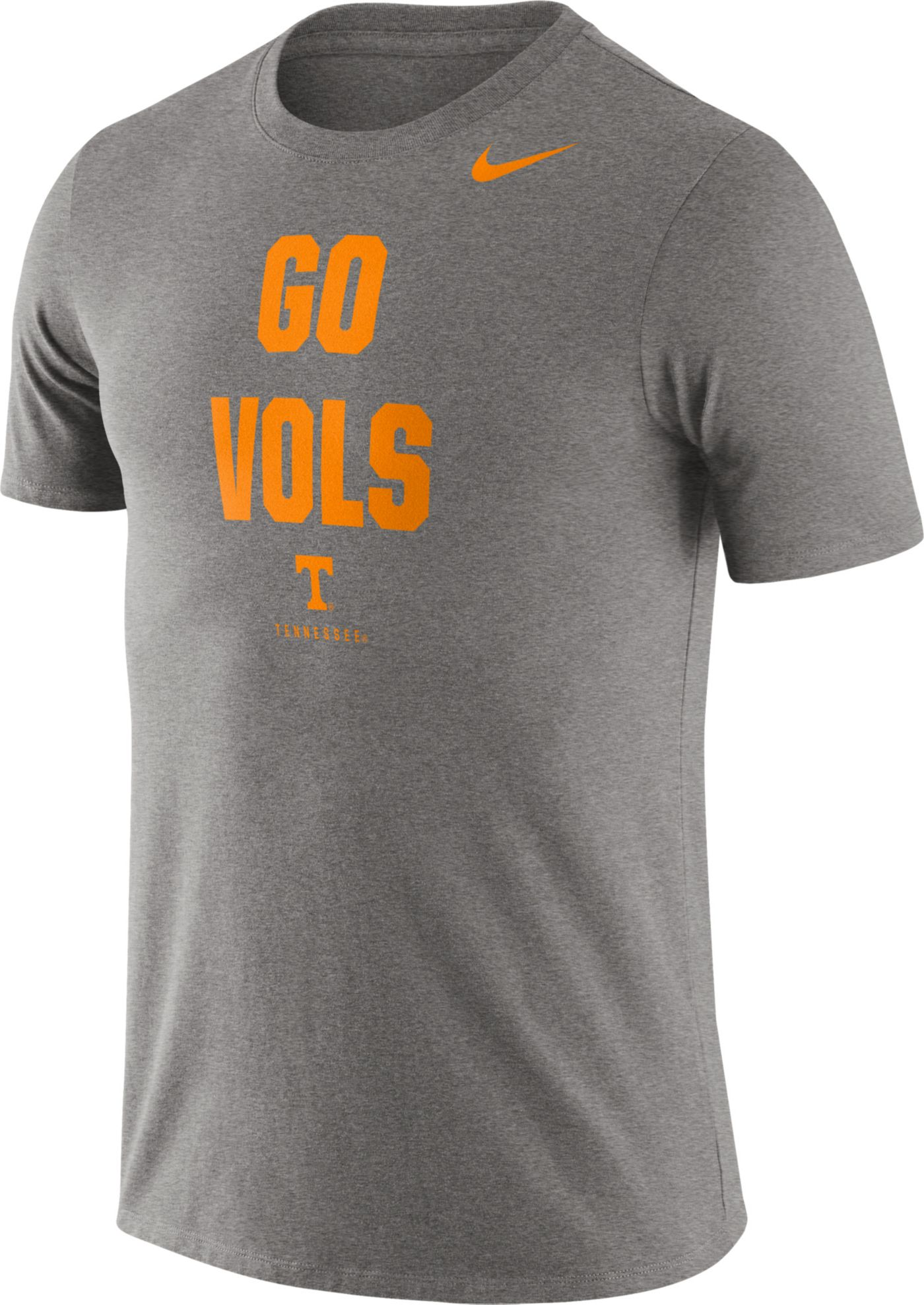 Nike Men's Tennessee Volunteers Grey Dri-FIT Phrase T-Shirt