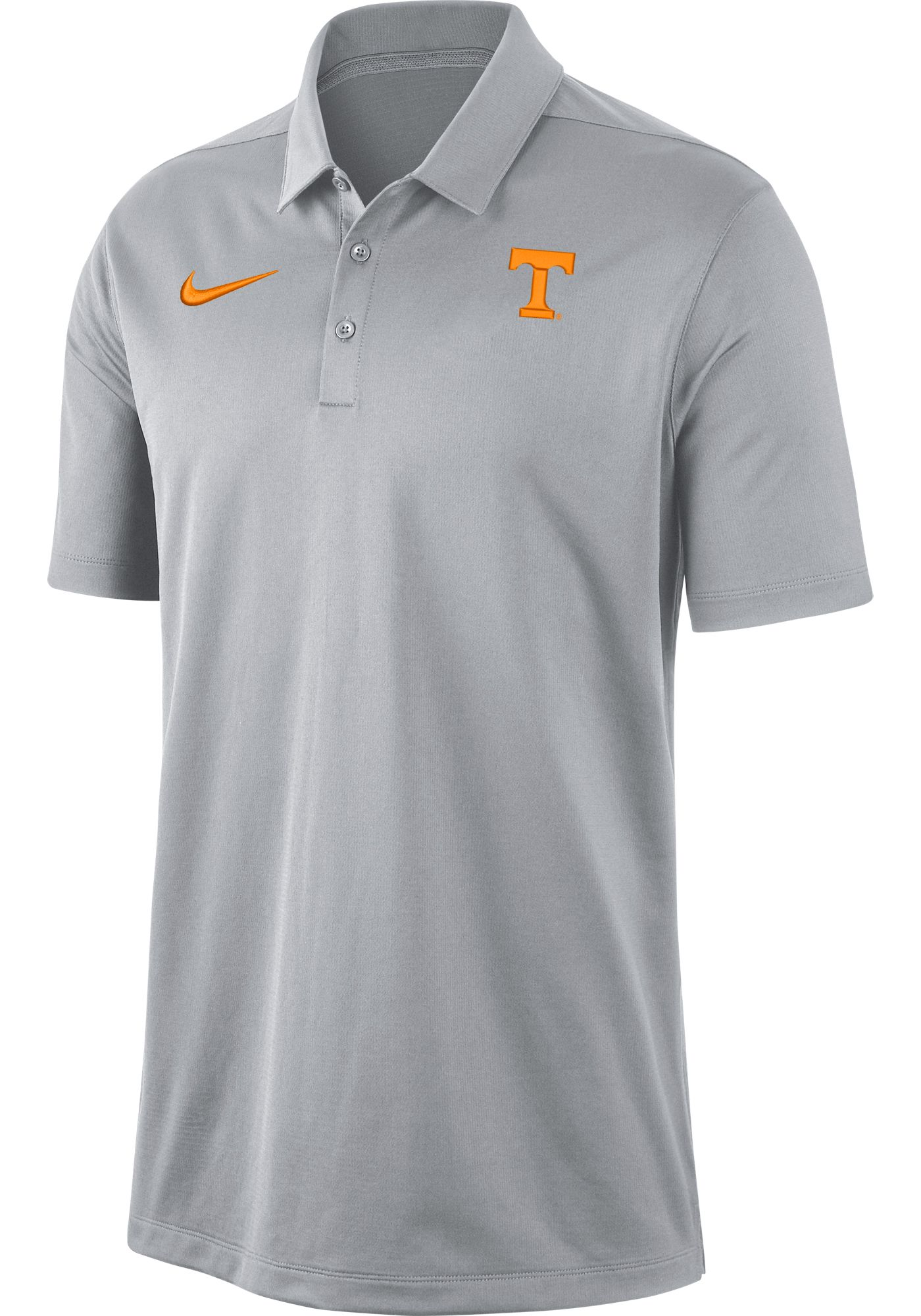 Nike Men's Tennessee Volunteers Grey Dri-FIT Franchise Polo