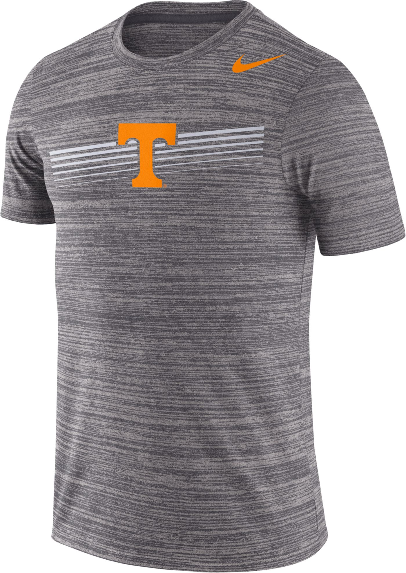 Nike Men's Tennessee Volunteers Grey Velocity Legend Graphic T-Shirt