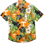 FOCO Men's Tennessee Volunteers Tennessee Orange Floral Button-Up Shirt