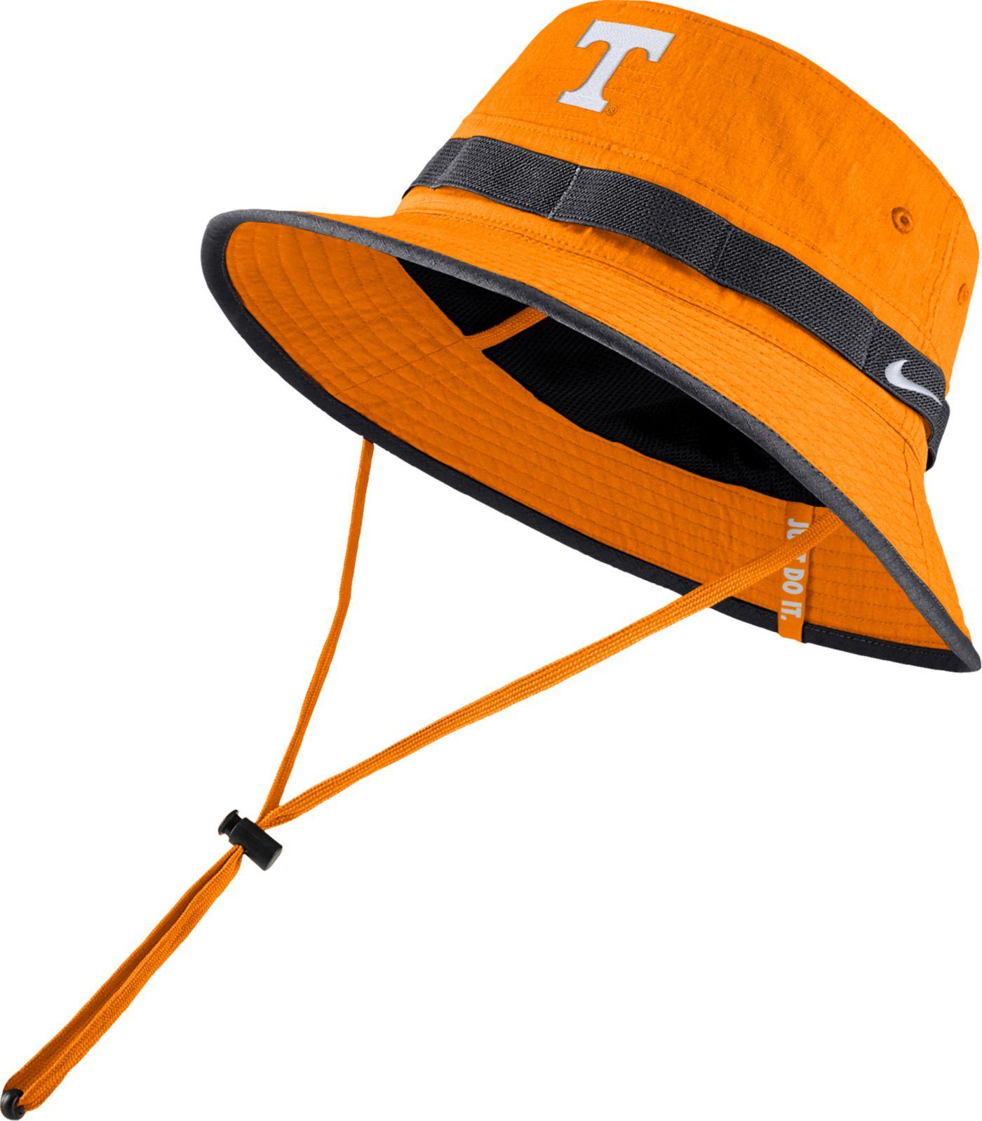 Nike Men's Tennessee Volunteers Tennessee Orange Dri-FIT Sideline Bucket Hat