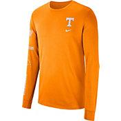 Nike Men's Tennessee Volunteers Tennessee Orange Dri-FIT Elevated Basketball Long Sleeve Shirt