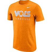 Nike Men's Tennessee Volunteers Tennessee Orange Marled Raglan T-Shirt