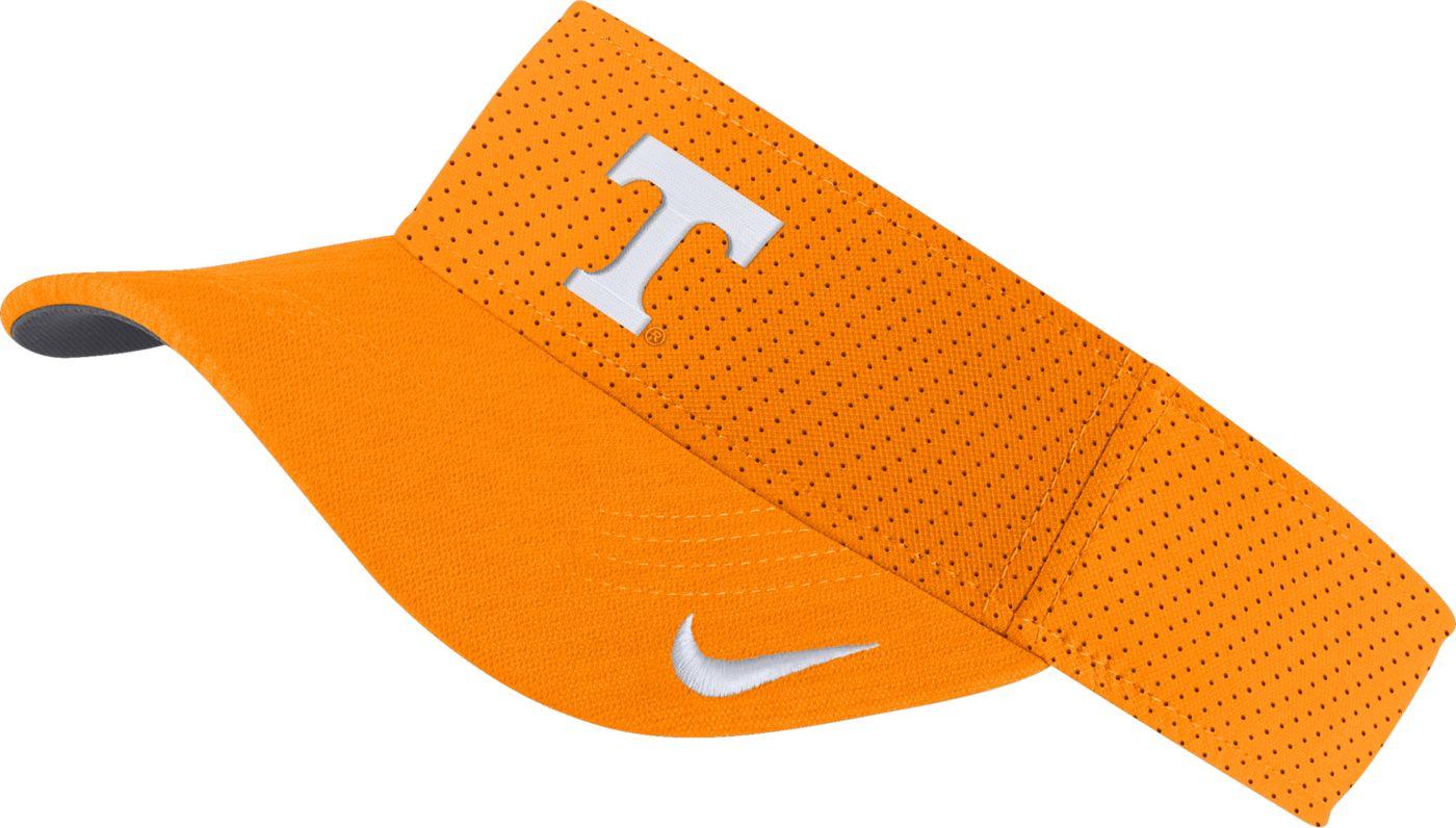Nike Men's Tennessee Volunteers Tennessee Orange AeroBill Football Sideline Visor