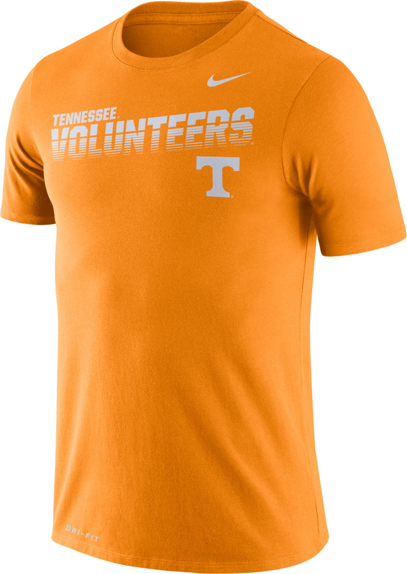 Nike Men's Tennessee Volunteers Tennessee Orange Legend Football Sideline T-Shirt