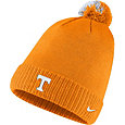 Nike Men's Tennessee Volunteers Tennessee Orange Football Sideline Pom Beanie