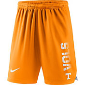 Nike Men's Tennessee Volunteers Tennessee Orange Breathe Player Shorts