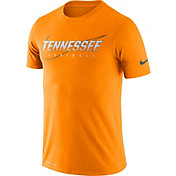 Nike Men's Tennessee Volunteers Tennessee Orange Football Dri-FIT Cotton Facility T-Shirt
