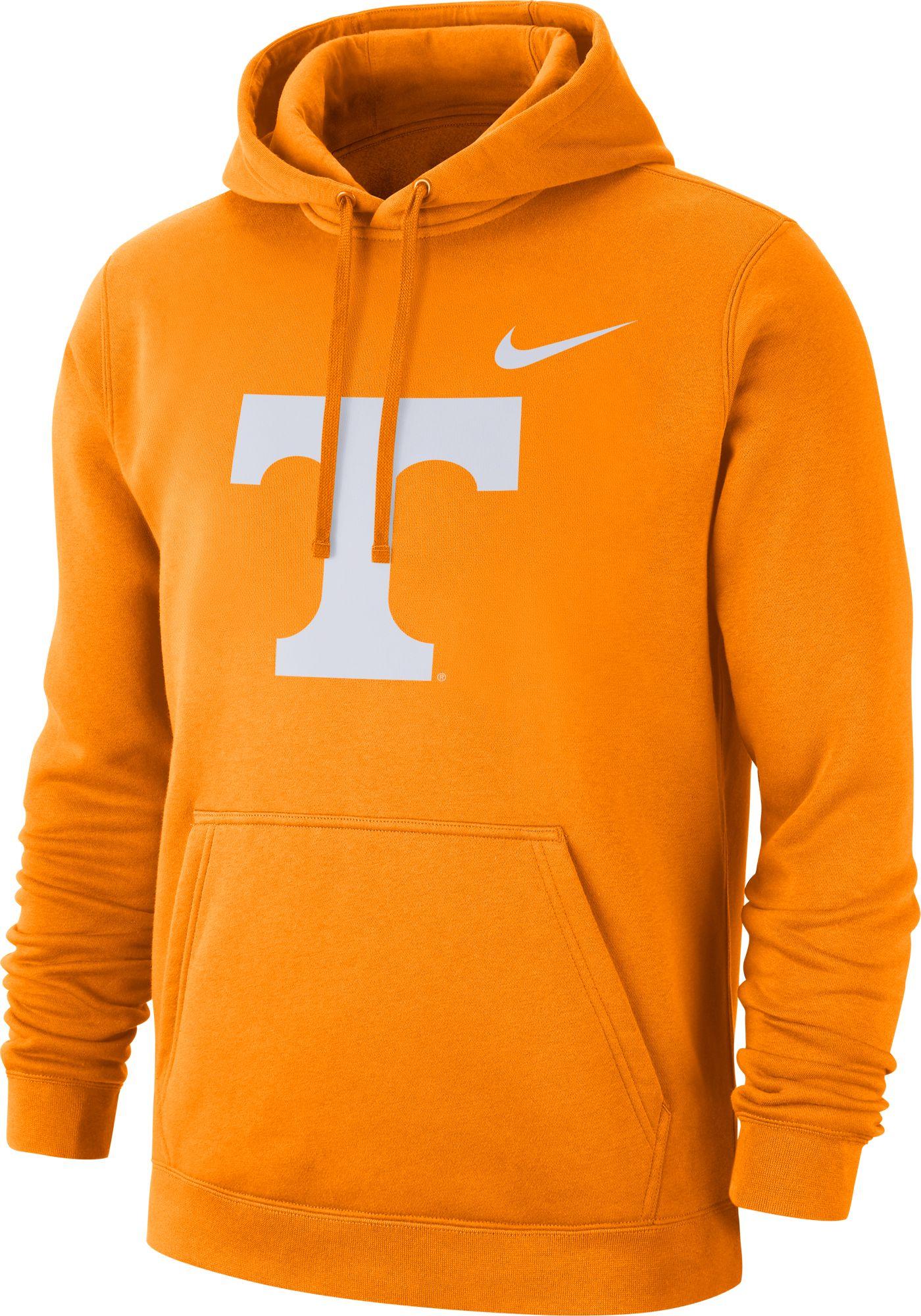 Nike Men's Tennessee Volunteers Tennessee Orange Club Fleece Pullover Hoodie